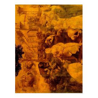 Leonardo da Vinci :    :    L?onard de Vinci :     Postcard