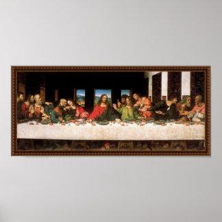 Leonardo da Vinci - Last Supper Renaissance Art Poster