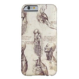 Leonardo Da Vinci Medical sketches, body parts Barely There iPhone 6 Case