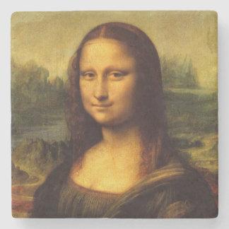 Leonardo Da Vinci Mona Lisa Fine Art Painting Stone Beverage Coaster