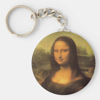 Leonardo Da Vinci' Mona Lisa Keychain