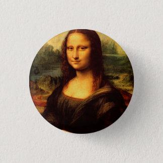 LEONARDO DA VINCI - Mona Lisa, La Gioconda 1503 1 Inch Round Button