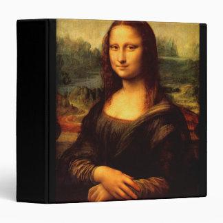 LEONARDO DA VINCI - Mona Lisa, La Gioconda 1503 3 Ring Binders
