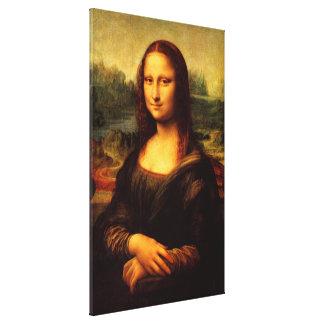 LEONARDO DA VINCI - Mona Lisa, La Gioconda 1503 Canvas Print