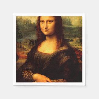 LEONARDO DA VINCI - Mona Lisa, La Gioconda 1503 Disposable Napkins
