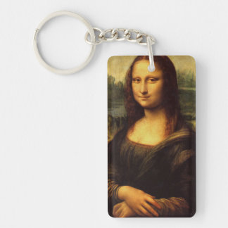 LEONARDO DA VINCI - Mona Lisa, La Gioconda 1503 Keychain