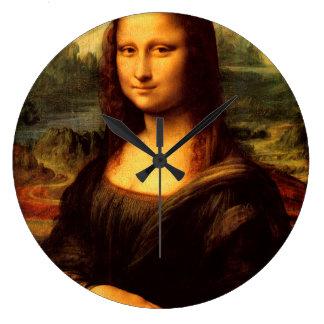LEONARDO DA VINCI - Mona Lisa, La Gioconda 1503 Large Clock
