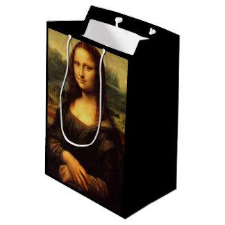 LEONARDO DA VINCI - Mona Lisa, La Gioconda 1503 Medium Gift Bag