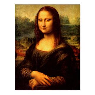 LEONARDO DA VINCI - Mona Lisa, La Gioconda 1503 Postcard