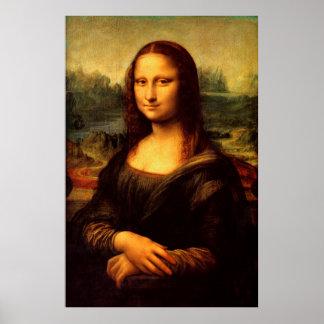 LEONARDO DA VINCI - Mona Lisa, La Gioconda 1503 Poster