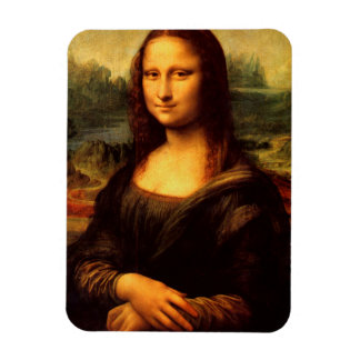 LEONARDO DA VINCI - Mona Lisa, La Gioconda 1503 Rectangular Photo Magnet