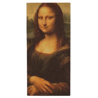 LEONARDO DA VINCI - Mona Lisa, La Gioconda 1503 Wood USB Flash Drive