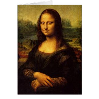 Leonardo da Vinci Mona Lisa Painting Card