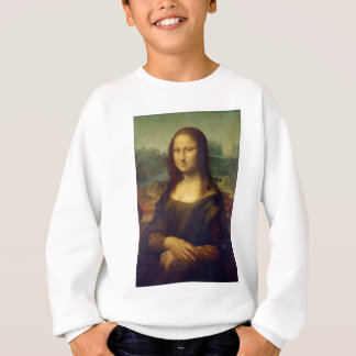 Leonardo da Vinci - Mona Lisa Painting Sweatshirt