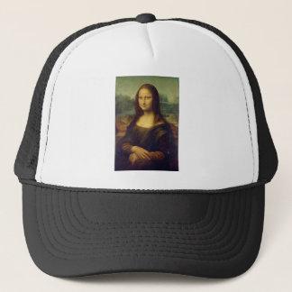 Leonardo da Vinci - Mona Lisa Painting Trucker Hat