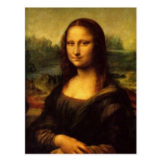Leonardo Da Vinci  Mona Lisa Postcard
