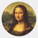 Leonardo Da Vinci  Mona Lisa Sticker