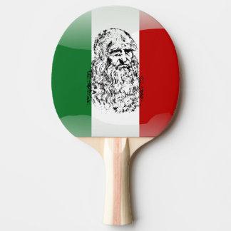 Leonardo da Vinci Ping Pong Paddle