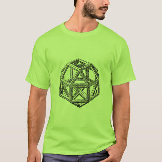 Leonardo da Vinci Polyhedra T-Shirt
