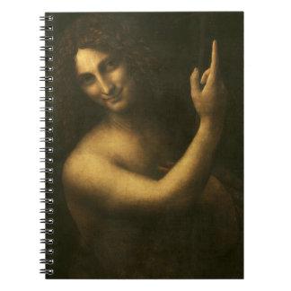 Leonardo da Vinci -Saint John the Baptist Painting Notebook