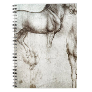 Leonardo da Vinci - Study of a Horse Notebook