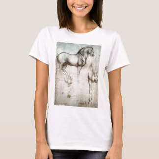 Leonardo da Vinci - Study of a Horse T-Shirt
