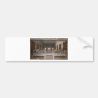 Leonardo da Vinci - The Last Supper painting Bumper Sticker