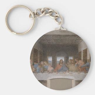 Leonardo da Vinci - The Last Supper painting Keychain