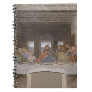 Leonardo da Vinci - The Last Supper painting Notebook