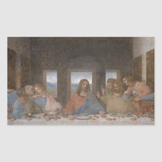 Leonardo da Vinci - The Last Supper painting Sticker