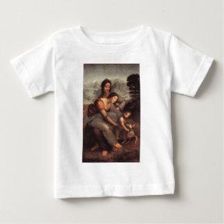 Leonardo da Vinci - Virgin and Child with St Anne Baby T-Shirt