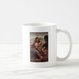 Leonardo da Vinci - Virgin and Child with St Anne Coffee Mug