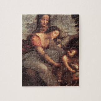 Leonardo da Vinci - Virgin and Child with St Anne Jigsaw Puzzle