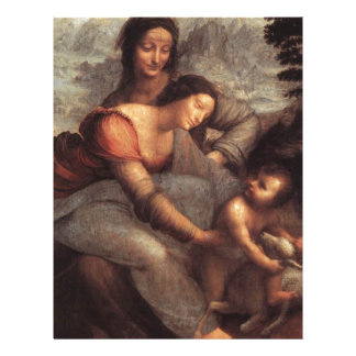 Leonardo da Vinci - Virgin and Child with St Anne Letterhead