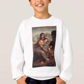 Leonardo da Vinci - Virgin and Child with St Anne Sweatshirt