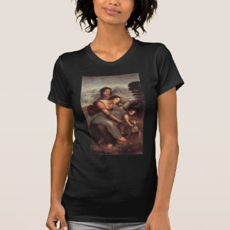 Leonardo da Vinci - Virgin and Child with St Anne T-Shirt