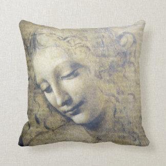Leonardo Da Vinci Young Woman Pillow