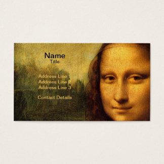 Leonardo Da Vinci's Mona Lisa Business Card