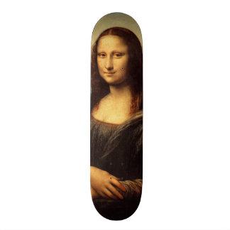 Leonardo da Vinci's Mona Lisa Custom Skate Board