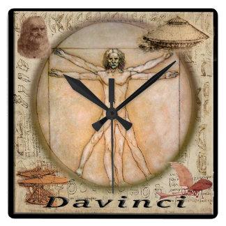 Leonardo davinci clock