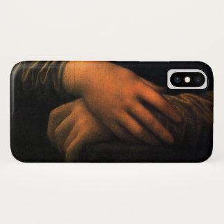 Leonardo Mona Lisa Hands iPhone X Case