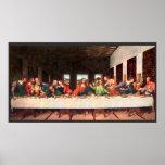 Leonardo's Last Supper painting recreated Poster