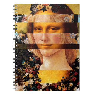 Leonardo's Mona Lisa & Botticelli's Flora Notebook