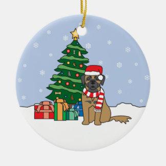 Leonberger Christmas Ornament