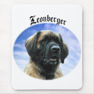 Leonberger Clouds Mouse Pad
