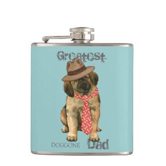 Leonberger Dad Hip Flask
