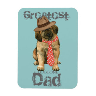 Leonberger Dad Magnet