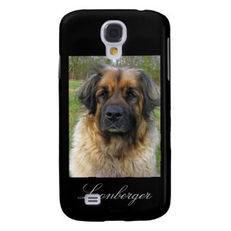 Leonberger dog iphone 3G case, beautiful photo