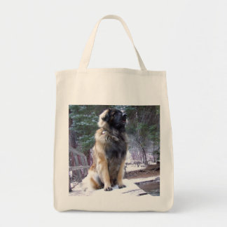 Leonberger Grocery Tote