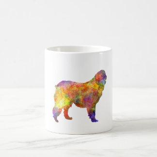 Leonberger in watercolor coffee mug